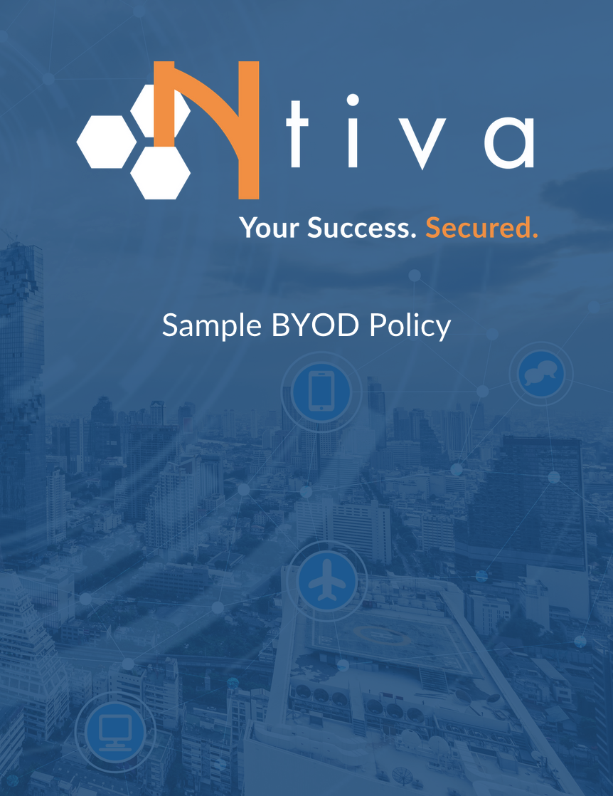 Sample BYOD Policy Cover